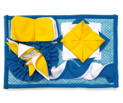 Нюхательный коврик 38*25 / голубой