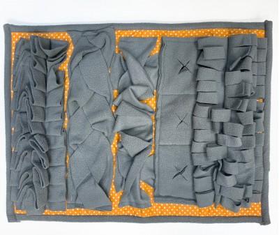 Нюхательный коврик 50*36 / серый