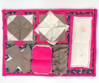 Нюхательный коврик 50*38 / розовый
