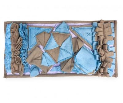 Нюхательный коврик 50*28 / голубой, мод 2