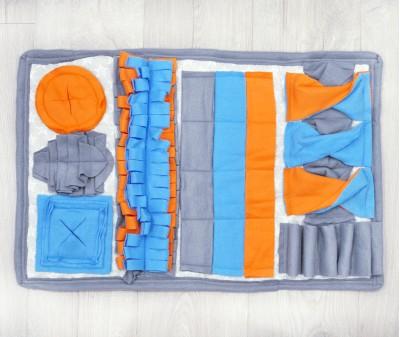 Нюхательный коврик 64*40 см / серый, мод. 3