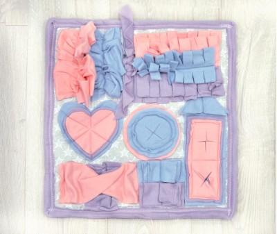 Нюхательный коврик 46*43 см / розовый