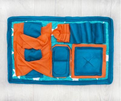 Нюхательный коврик MINIK 43*27 / изумрудный