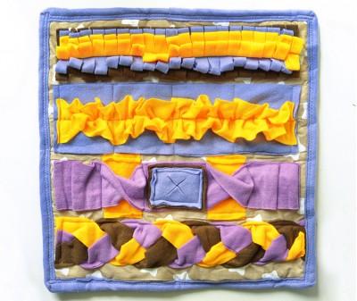 Нюхательный коврик 50*50 / сиреневый мод 1