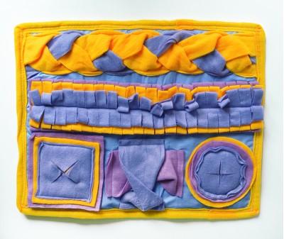 Нюхательный коврик 50*40 / желто-сирен, мод 1