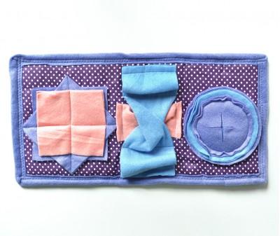 Нюхательный коврик Minik 47*25 / фиолетовый