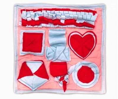Нюхательный коврик розовый. мод 2 | 50*50 см