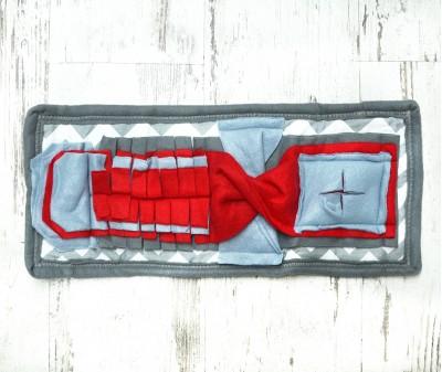 Нюхательный коврик Minik 48*24 / серый