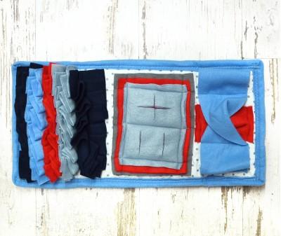 Нюхательный коврик MINIK 47*24 / голубой