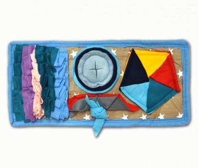 Нюхательный коврик Minik 48*24 / цветной, мод 2