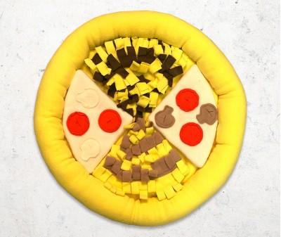 """Нюхательная развивающая игрушка """"Пицца"""" /  50*50 см"""