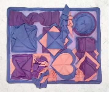 Нюхательный коврик 50*40 / фиолетов...