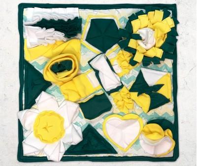Нюхательный коврик 50*50 / зеленый