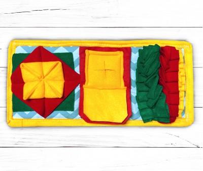 Нюхательный коврик Minik 50*25 / желтый