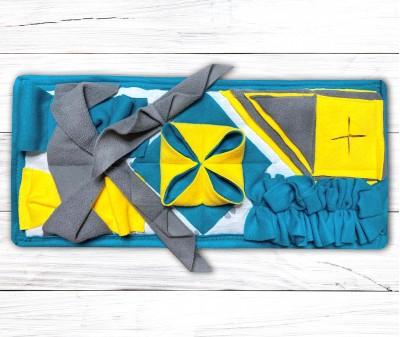 Нюхательный коврик Minik 50*25 / бирюзовый, мод 1