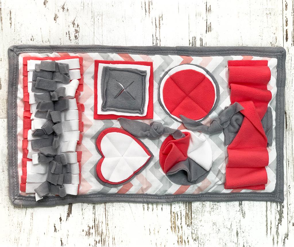 Нюхательный коврик серый| 55*32 см
