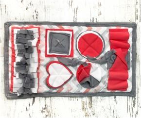 Нюхательный коврик серый| 55*32 см...
