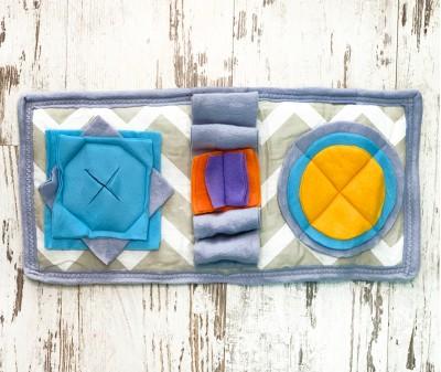 Нюхательный коврик MINIK, геометрия | 48*24 см