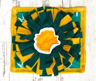 Нюхательный коврик MINIK,  солнышко | 27*23 см