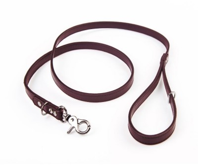 Поводок для собаки кожаный V823  Браун    XS, L