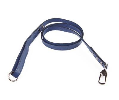 Поводок для собаки кожаный V823  Синий    XS, L