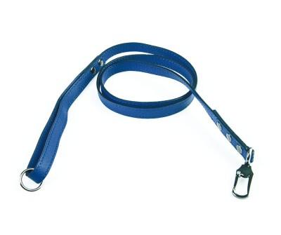 Поводок для собаки кожаный V823  Индиго    XS, L