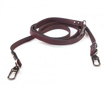 Поводок перестежка для собаки кожаный V823  Браун | S, XL