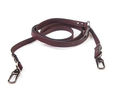 Поводок перестежка для собаки кожаный V823  Браун   S, XL