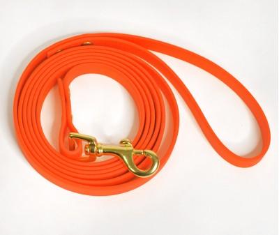 Поводок из биотана, оранжевый - 12 мм * 2 м