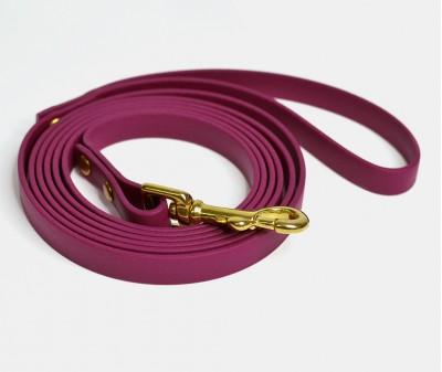 Поводок из биотана, бордовый - 12 мм * 3 м