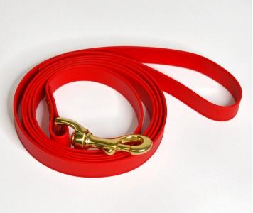 Поводок из биотана, красный - 19 мм...
