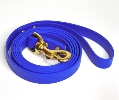 Поводок из биотана, синий - 19 мм * 3 м