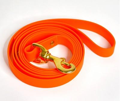 Поводок из биотана, оранжевый - 12 мм * 3 м