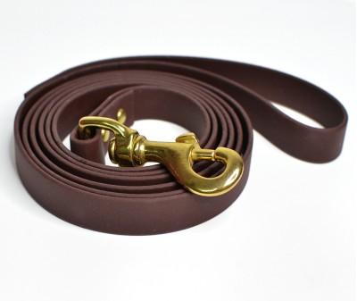 Поводок из биотана, коричневый - 19 мм * 3 м