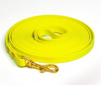 Поводок из биотана, жёлтый - 19 мм ...