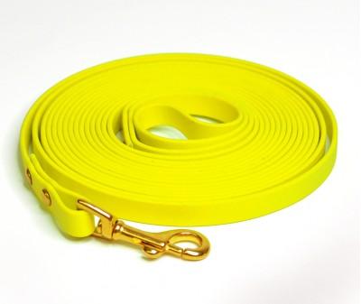 Поводок из биотана, жёлтый - 19 мм * 5 м