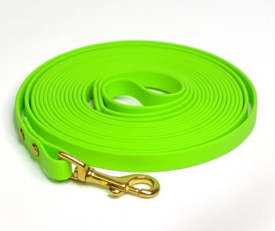 Поводок из биотана, салатовый - 12 мм * 5 м