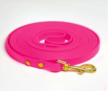 Поводок из биотана, розовый - 12 мм...