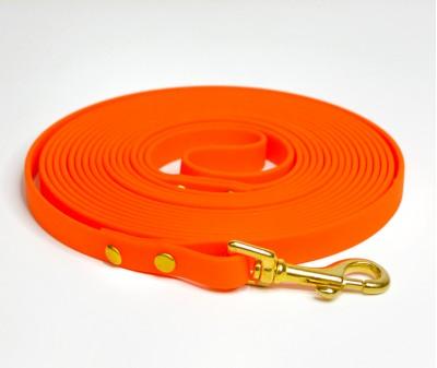 Поводок из биотана, оранжевый - 12 мм * 5 м
