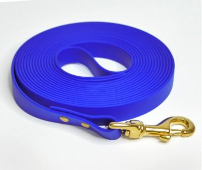 Поводок из биотана, синий - 19 мм * 5 м
