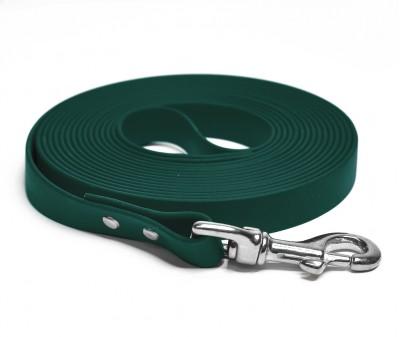 """Поводок из биотана """"Juno"""", темно-зеленый - 19 мм * 5 м"""
