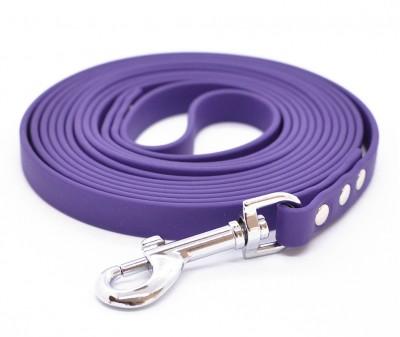 """Поводок из биотана Woofy """"Juno"""", фиолетовый - 12 мм * 1,5 м"""