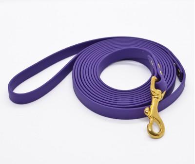 """Поводок из биотана """"Juno"""", фиолетовый - 12 мм * 3 м"""
