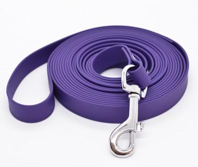 """Поводок из биотана """"Juno"""", фиолетовый - 19 мм * 3 м"""