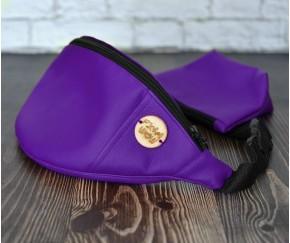 Сумка на пояс BANANA-DOG | фиолетов...