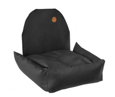 Автокресло для собак | черное | 50 x 50 см