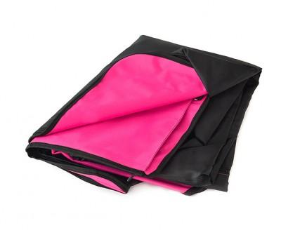 Автогамак для перевозки собак    розовый    360°