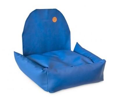 Автокресло для собак | синее |  50 x 50 см