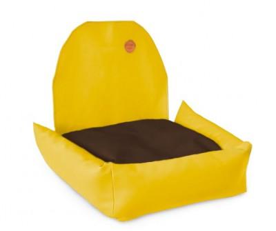 Автокресло для собак   желтое    50 x 50 см