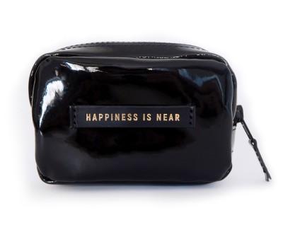 "Сумка на пояс  ""HAPPINES IS NEAR""   | черный"